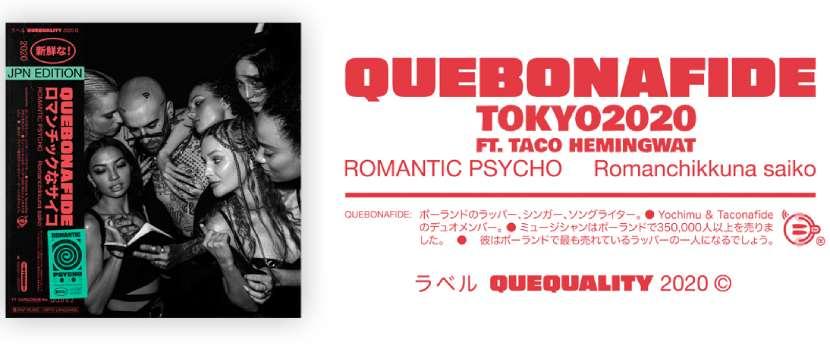 Quebonafide - TOKYO2020 Taco Hemingway