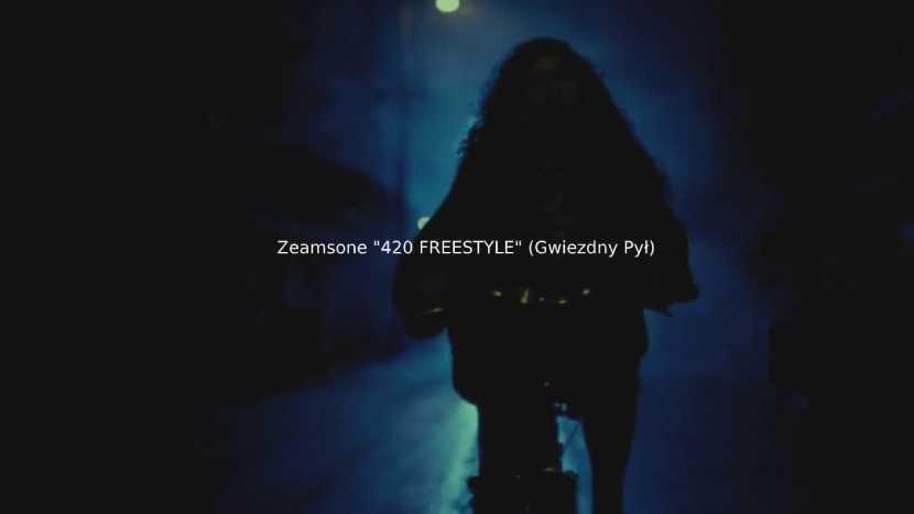 """Zeamsone """"420 FREESTYLE"""" (Gwiezdny Pył)"""